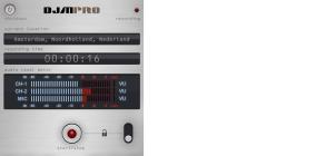 DJMPro Interface design (GUI)