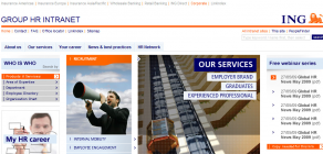 ING Group HR Intranet