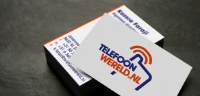 Telefoon-Wereld Brand, Styleguide, online and offline productions