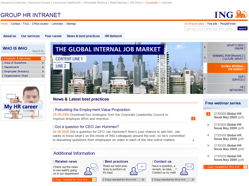 Ing Group Hr Intranet Studio Reload